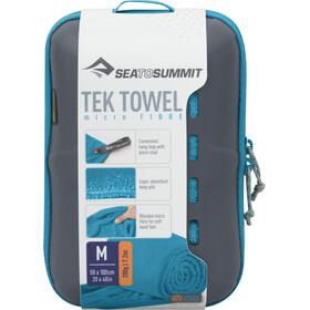Sea to Summit Tek Serviette pour chien M, pacific blue